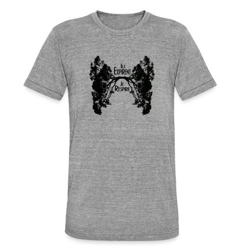Oxygène - T-shirt chiné Bella + Canvas Unisexe