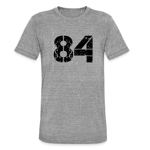 84 vo t gif - Unisex tri-blend T-shirt van Bella + Canvas