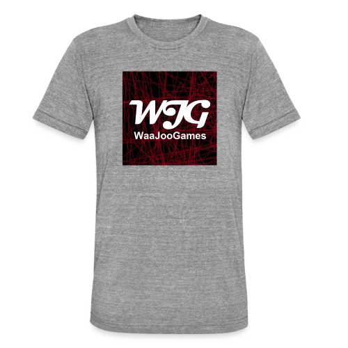 T-shirt WJG logo - Unisex tri-blend T-shirt van Bella + Canvas