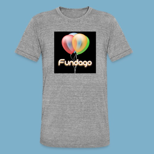 Fundago Ballon - Unisex Tri-Blend T-Shirt von Bella + Canvas