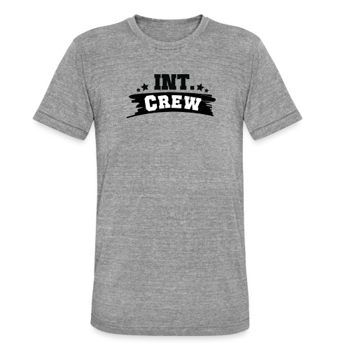 International Crew T-Shirt Design by Lattapon - Unisex tri-blend T-shirt fra Bella + Canvas