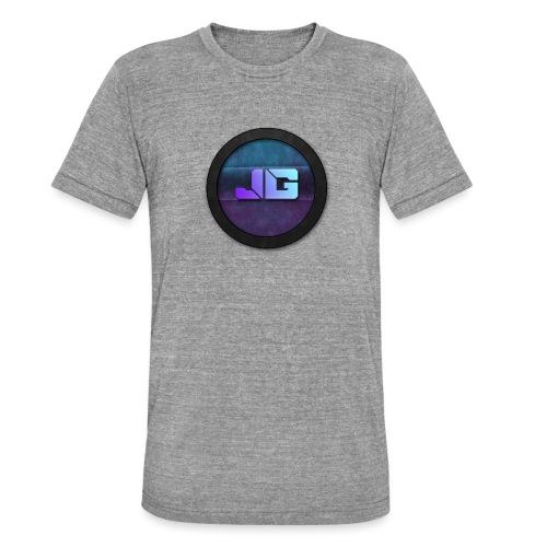 Trui met logo - Unisex tri-blend T-shirt van Bella + Canvas