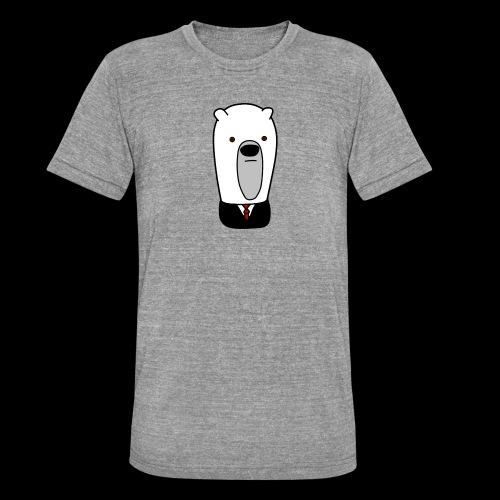 officel_polarbear_shop_logo - Unisex tri-blend T-shirt fra Bella + Canvas