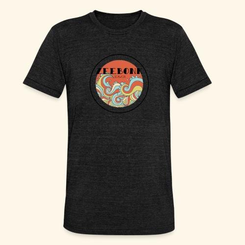 zeebonkwaves - Unisex tri-blend T-shirt van Bella + Canvas
