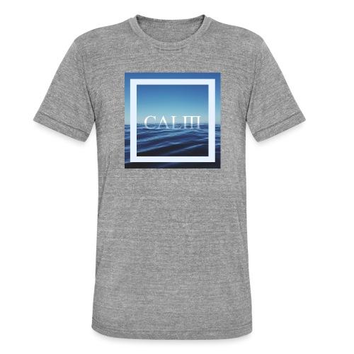 Calm Hipster T-Shirt - Unisex Tri-Blend T-Shirt von Bella + Canvas