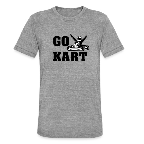Go kart - T-shirt chiné Bella + Canvas Unisexe