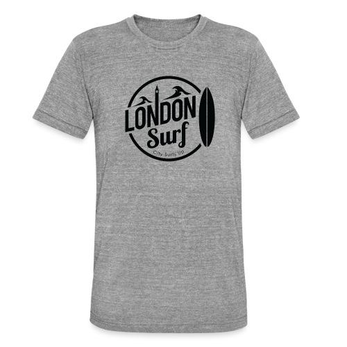 London Surf - Black - Unisex Tri-Blend T-Shirt by Bella + Canvas