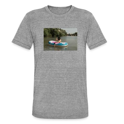 Wir stammen vom Affen ab - Unisex Tri-Blend T-Shirt von Bella + Canvas