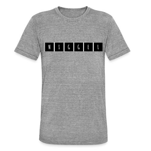 Niggel Design - Unisex Tri-Blend T-Shirt von Bella + Canvas