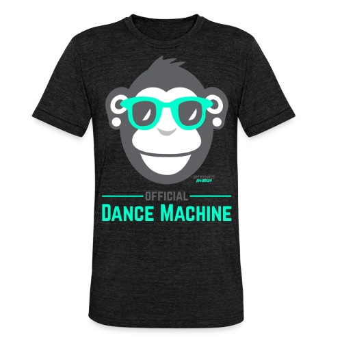 Official Dance Machine - Unisex Tri-Blend T-Shirt von Bella + Canvas