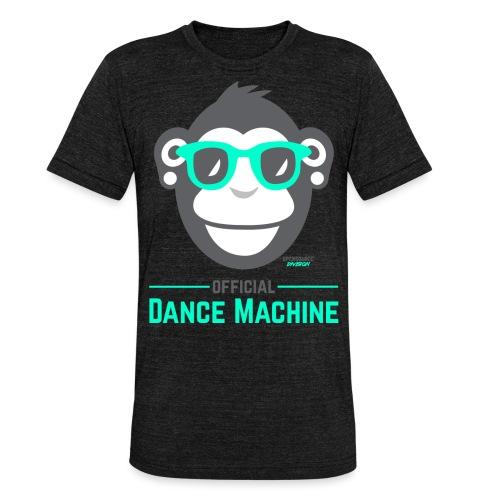 Official Dance Machine - Unisex Tri-Blend T-Shirt von Bella + Canvas