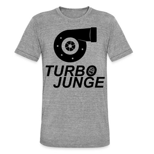 Turbojunge! - Unisex Tri-Blend T-Shirt von Bella + Canvas