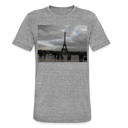 Paris - Maglietta unisex tri-blend di Bella + Canvas