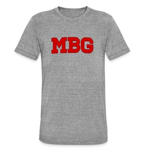 MBG - Unisex tri-blend T-shirt van Bella + Canvas