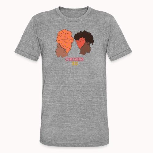 Headwrapped Princesses - Unisex tri-blend T-shirt van Bella + Canvas