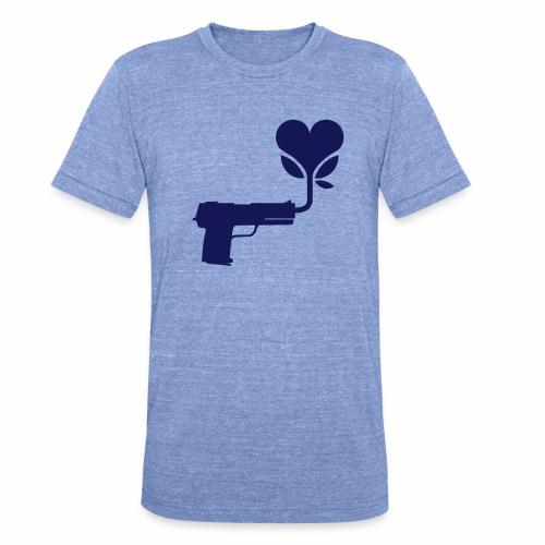 Local Underground logo flat - Unisex Tri-Blend T-Shirt by Bella + Canvas