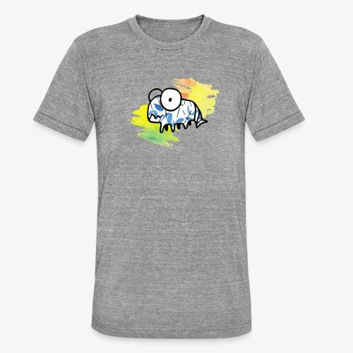dziwny stworek akwarele - Koszulka Bella + Canvas triblend – typu unisex