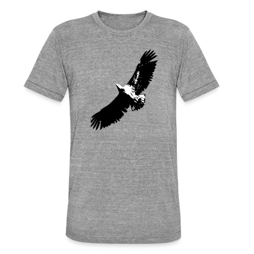 Fly like an eagle - Unisex Tri-Blend T-Shirt von Bella + Canvas
