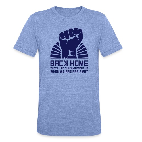 Back Home - Unisex Tri-Blend T-Shirt by Bella + Canvas