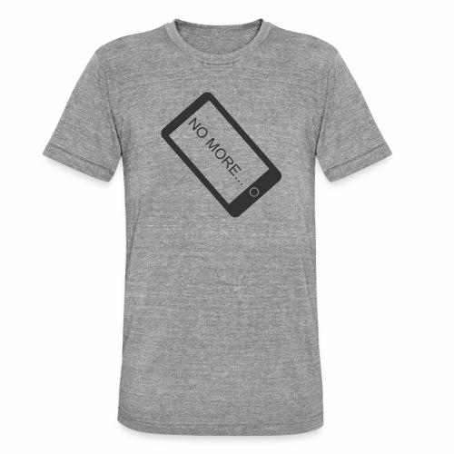 No More Smartphone - T-shirt chiné Bella + Canvas Unisexe