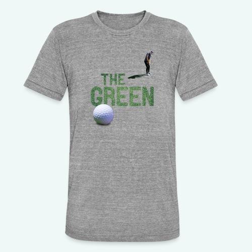 Golf - The Green - Unisex Tri-Blend T-Shirt von Bella + Canvas