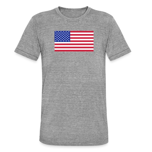 USA / United States - Unisex tri-blend T-shirt van Bella + Canvas