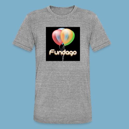 Fundago Ballon - Unisex Tri-Blend T-Shirt von Bella + Canvas