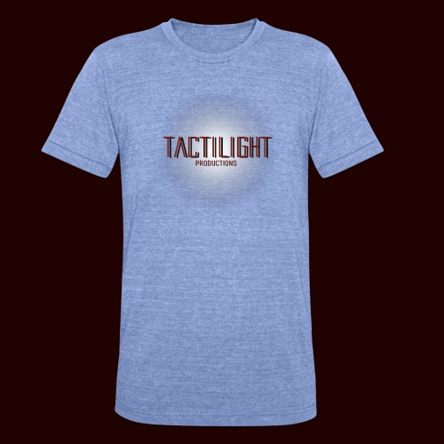 Tactilight Logo - Unisex Tri-Blend T-Shirt by Bella & Canvas