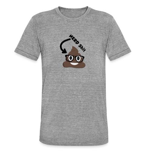 NERD Shit - Unisex Tri-Blend T-Shirt von Bella + Canvas