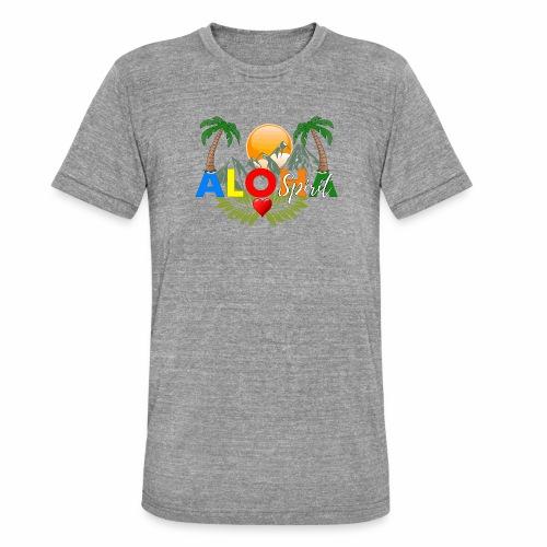 Aloha Spirit Tee - Unisex Tri-Blend T-Shirt von Bella + Canvas