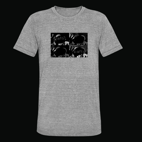 black bafti crew - Unisex tri-blend T-shirt fra Bella + Canvas