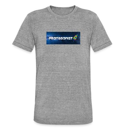 Protagonist by Schreiben-im-Flow.de - Unisex Tri-Blend T-Shirt von Bella + Canvas