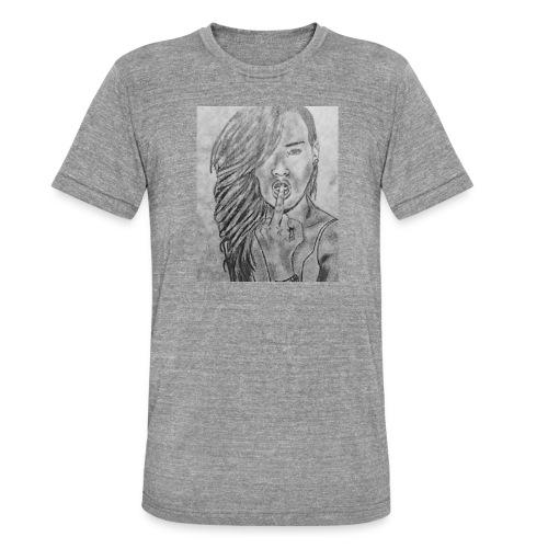 Jyrks_kunstdesign - Unisex tri-blend T-shirt fra Bella + Canvas
