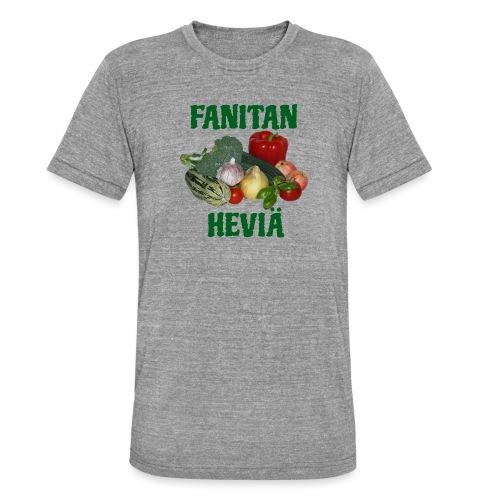Fanitan heviä - Bella + Canvasin unisex Tri-Blend t-paita.