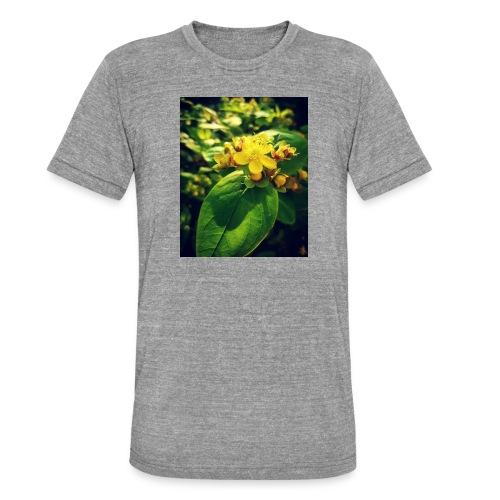 Fleur - T-shirt chiné Bella + Canvas Unisexe
