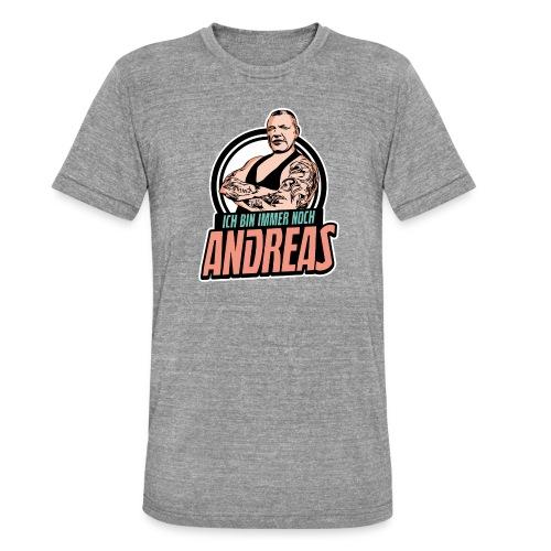 Immer-Noch-Andreas-Logo BUNT - Camiseta Tri-Blend unisex de Bella + Canvas