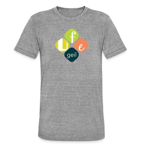 Lifegeil - Unisex Tri-Blend T-Shirt von Bella + Canvas