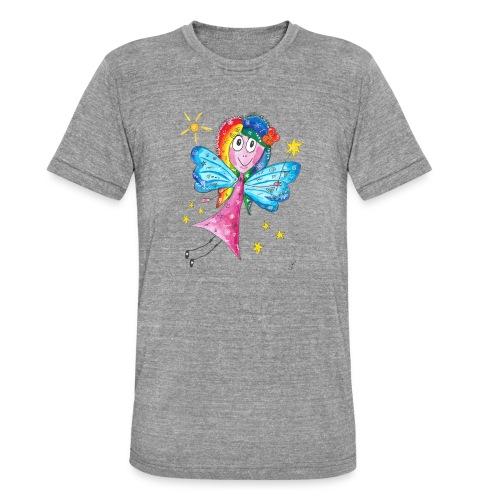 Happy Fairy 2 - Unisex Tri-Blend T-Shirt von Bella + Canvas