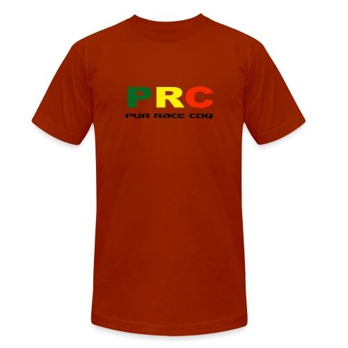 Pure Race Coq - PRC - Version 1 - T-shirt chiné Bella + Canvas Unisexe