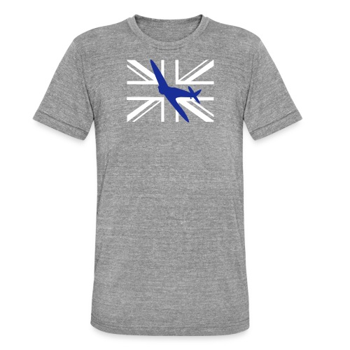 ukflagsmlWhite - Unisex Tri-Blend T-Shirt by Bella & Canvas