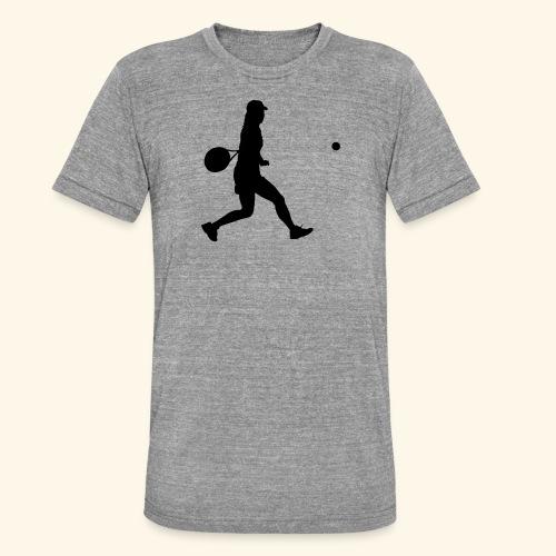tennis woman 2 - T-shirt chiné Bella + Canvas Unisexe