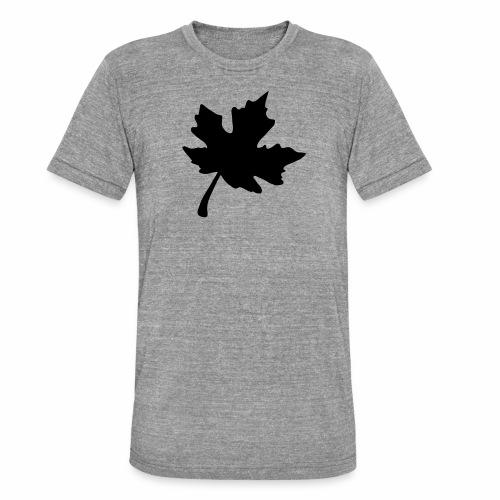 Ahorn Blatt - Unisex Tri-Blend T-Shirt von Bella + Canvas