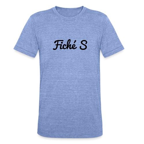 Fiché S - T-shirt chiné Bella + Canvas Unisexe
