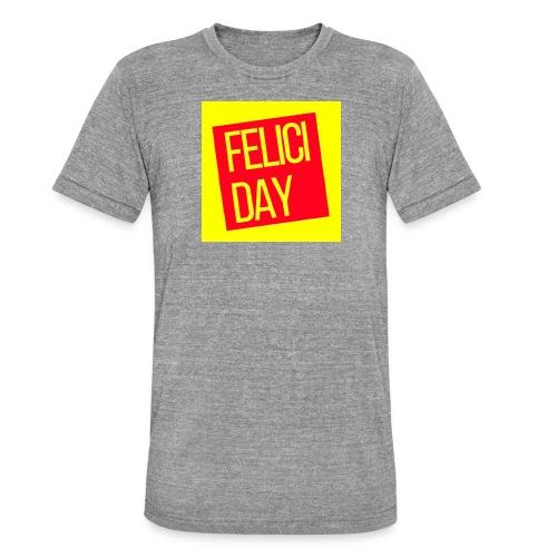 Feliciday - Camiseta Tri-Blend unisex de Bella + Canvas