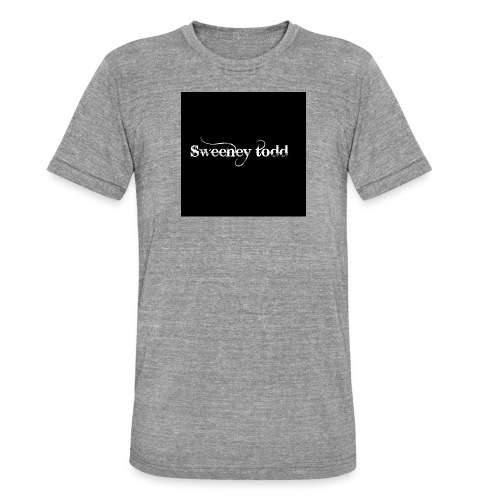 Sweney todd - Unisex tri-blend T-shirt fra Bella + Canvas