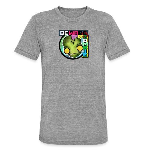 Beware of zombie - Camiseta Tri-Blend unisex de Bella + Canvas