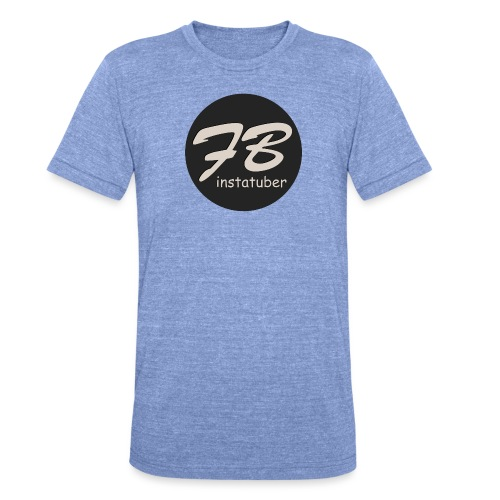 TSHIRT-INSTAGRAM - Unisex tri-blend T-shirt van Bella + Canvas