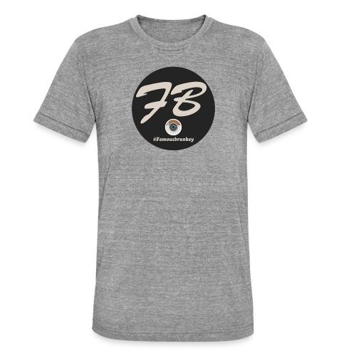 TSHIRT-INSTATUBER-METLOGO - Unisex tri-blend T-shirt van Bella + Canvas