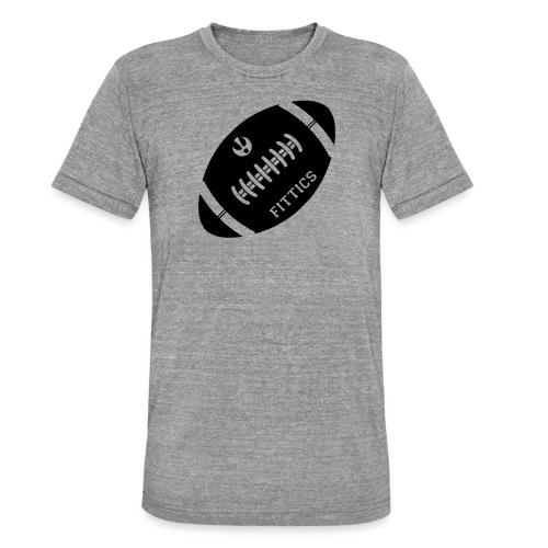 Fittics American Football - Unisex Tri-Blend T-Shirt by Bella & Canvas