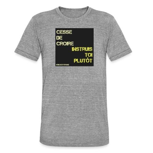 Motivation - T-shirt chiné Bella + Canvas Unisexe